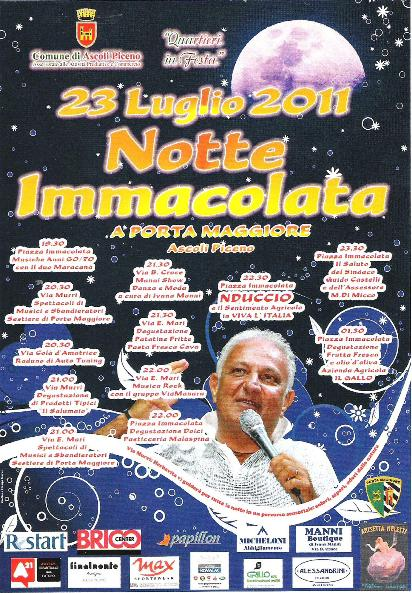 Locandina Notte Immacolata