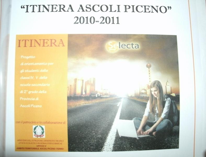 Locandina Progetto Itinera Ascoli