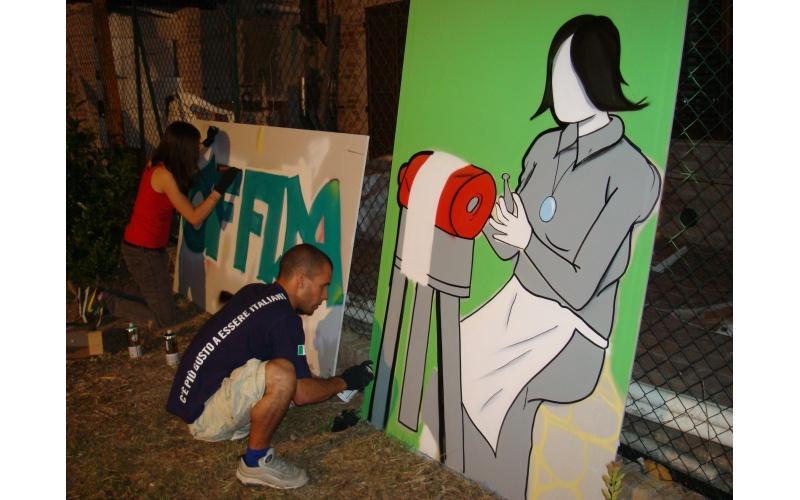 Un momento di graffiti e merletti (2010)