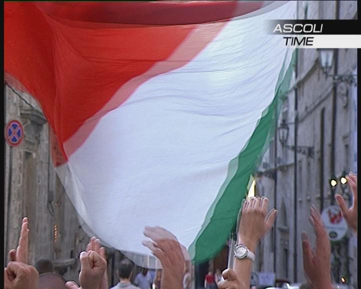 Ascoli Tifo contestazione (foto da: Ascoli Time)