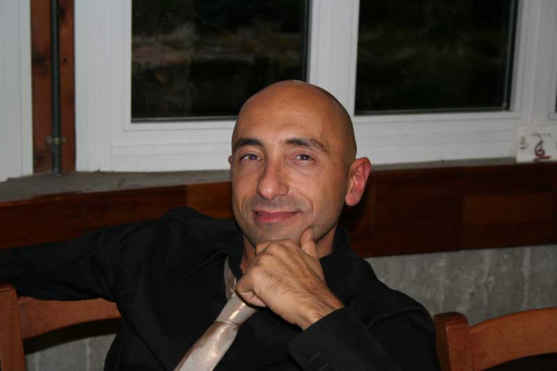 Il regista Christian Mosca