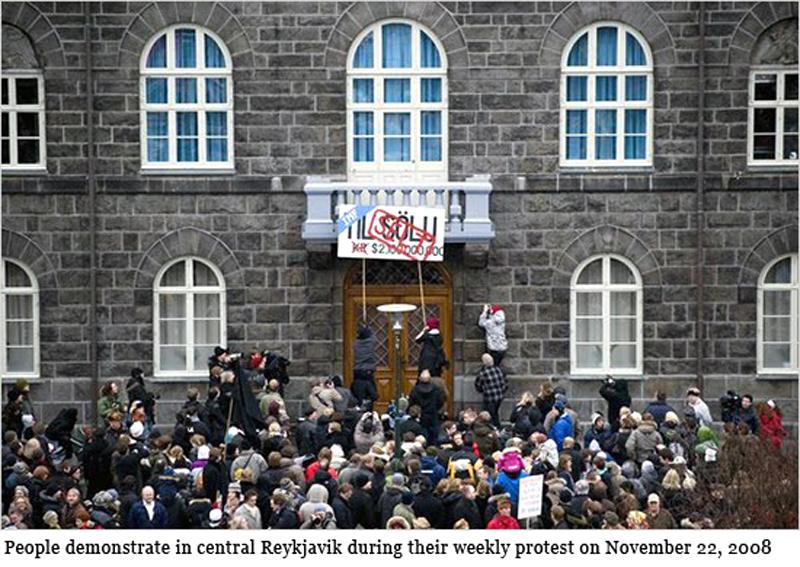Islandesi in azione nel 2008