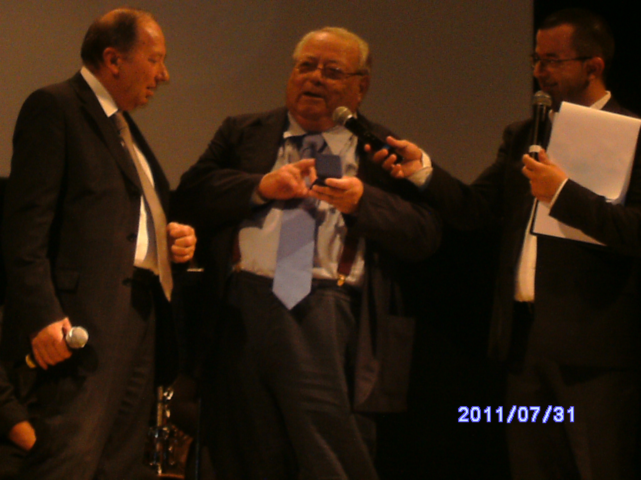 Giannetto Rosseti, Luigi Necco, Luca Sestili