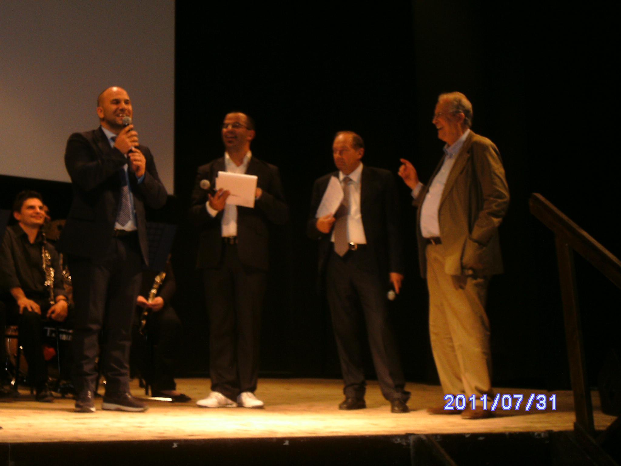 Valerio Lucciarini, Luca Sestili, Giannetto Rossetti, Nuccio Fava