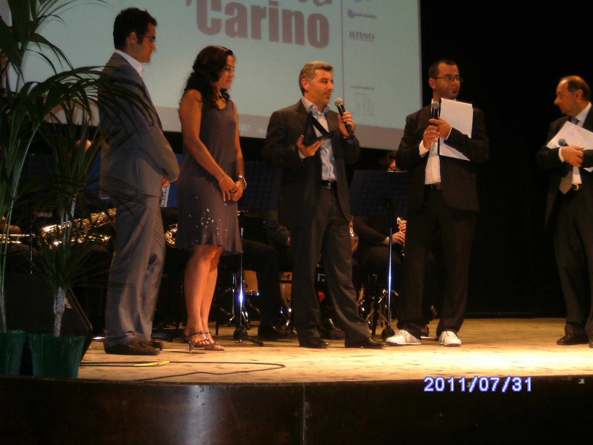 Riccardo e Daria Carino, Pierfrancesco Simoni, Luca Sestili