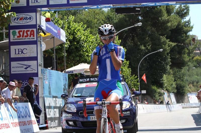 Offida2011: Rossella Ratto taglia il traguardo della gara su Strada e si laurea Campione d'Europa