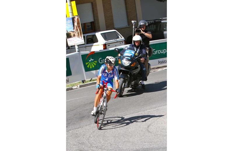 Offida2011: Rossella Ratto in azione durante la Gara su Strada di domenica mattina