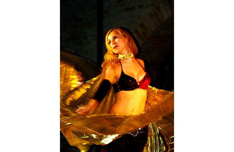Templaria 2010: una danzatrice