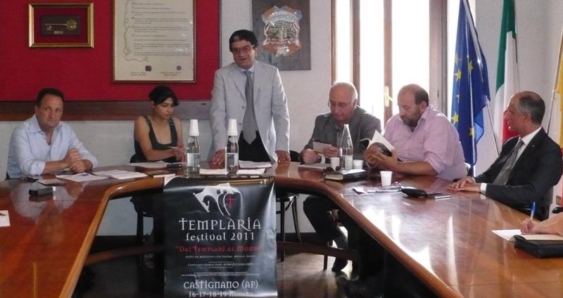 La conferenza stampa di presentazione di Templaria 2011
