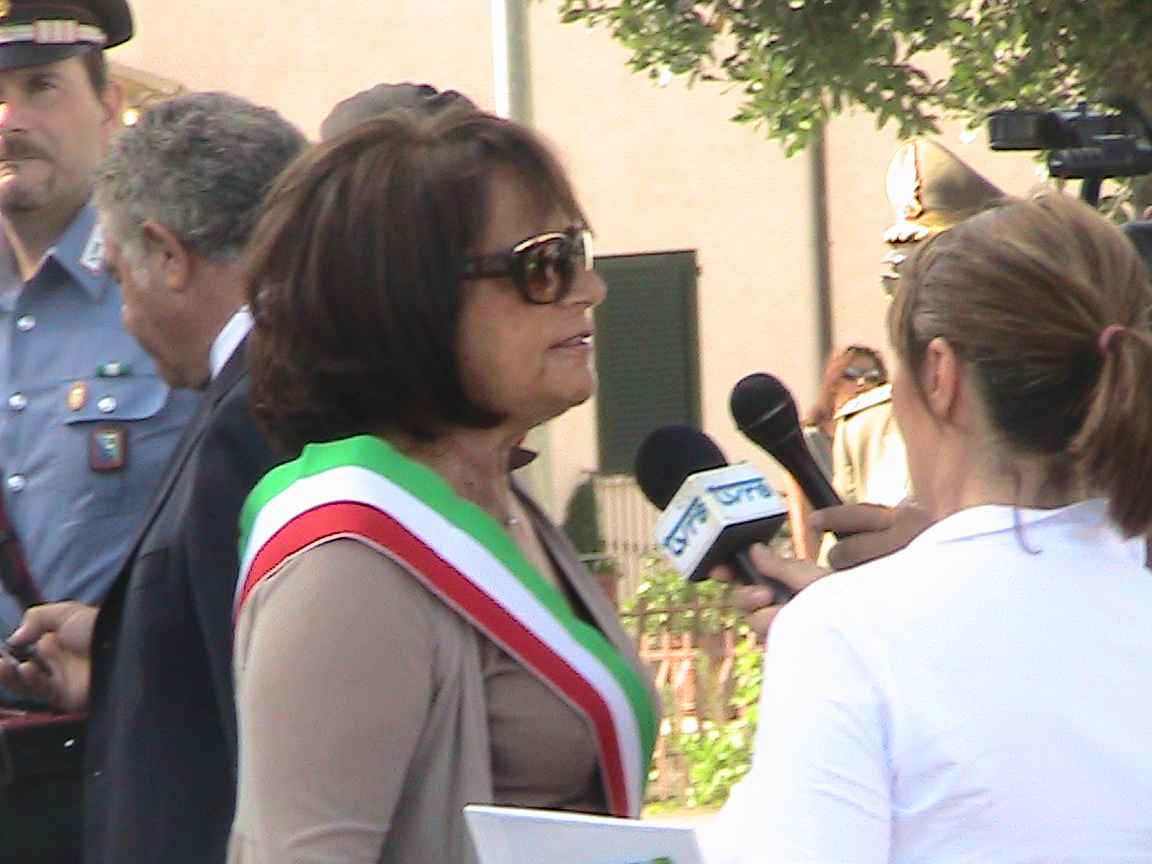 Patrizia Rossini, Sindaco di Castel di Lama
