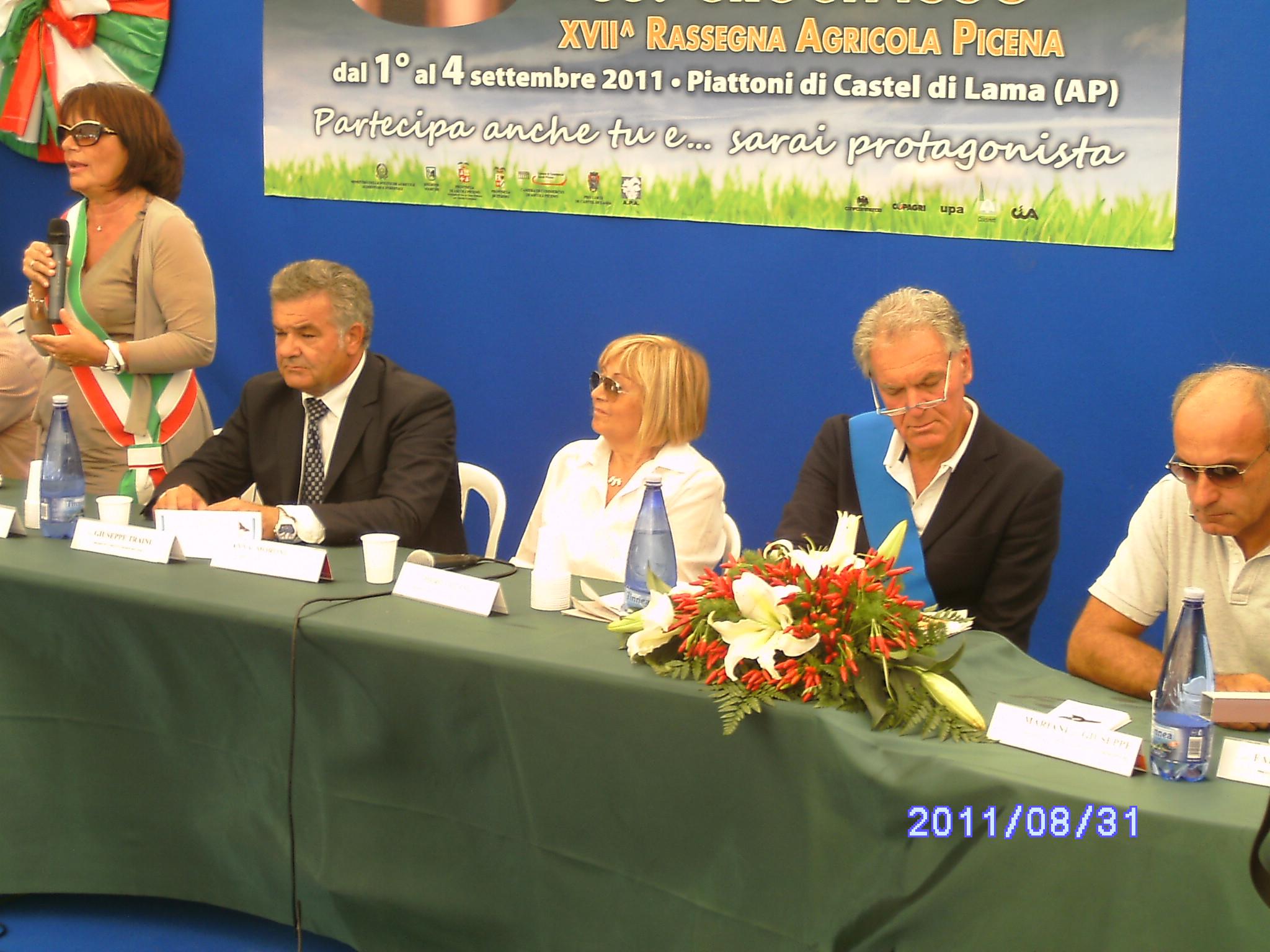 Patrizia Rossini, Giuseppe Traini, Anna Moroni, Piero Celani