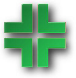 Il simbolo di una farmacia