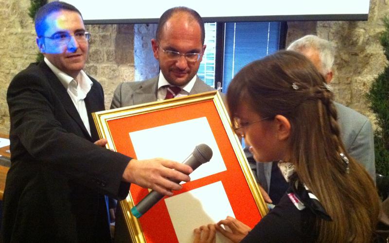 Premiazione Gioventù Ascolana, Maria Vittoria Tranquilli