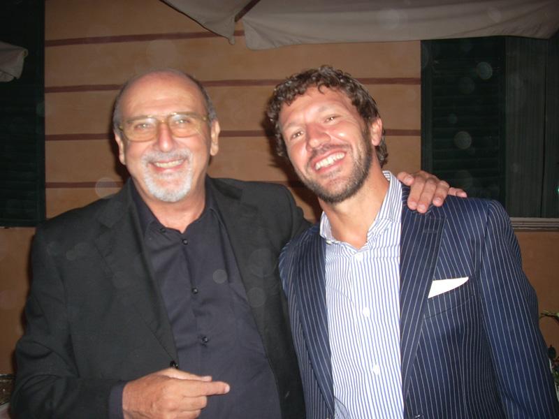 Il nostro direttore con Paolo De Matteis, ex Samb attualmente TM dell'Ascoli Calcio
