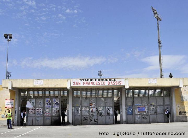 Stadio San Francesco (Foto Luigi Gasia/TuttoNocerina.com)