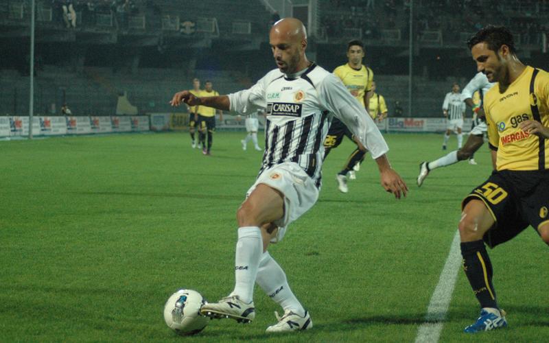 Andrea Soncin durante Ascoli-Modena 0-1 (ph. Giammusso)