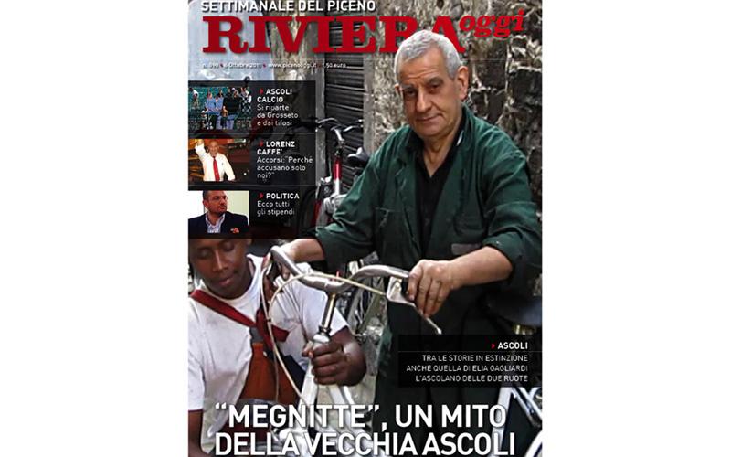 Copertina di Riviera Oggi 890, edizione Ascoli