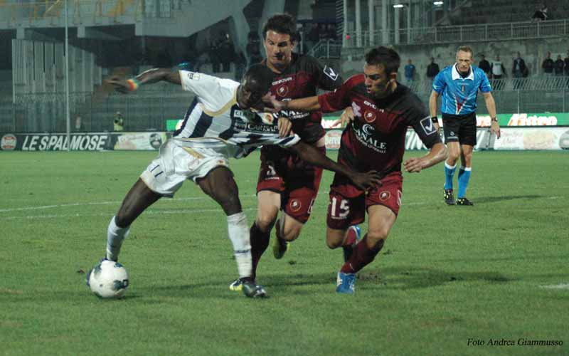 Papa Waigo, match winner al 'Picchi' (ph. Giammusso)