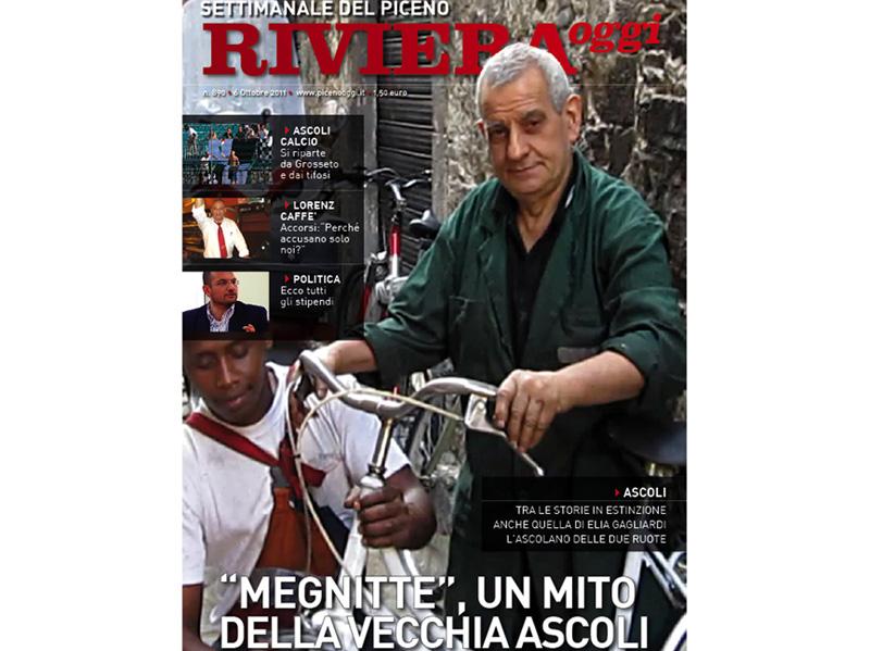 La copertina di Riviera Oggi 890, edizione di Ascoli