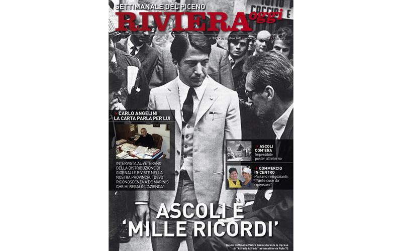 Riviera Oggi numero 893: Dustin Hoffman ad Ascoli