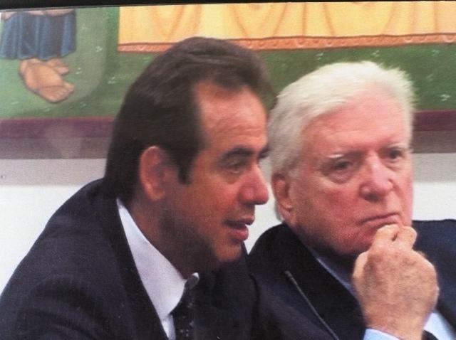 Pietro Colonnella e Sergio Zavoli