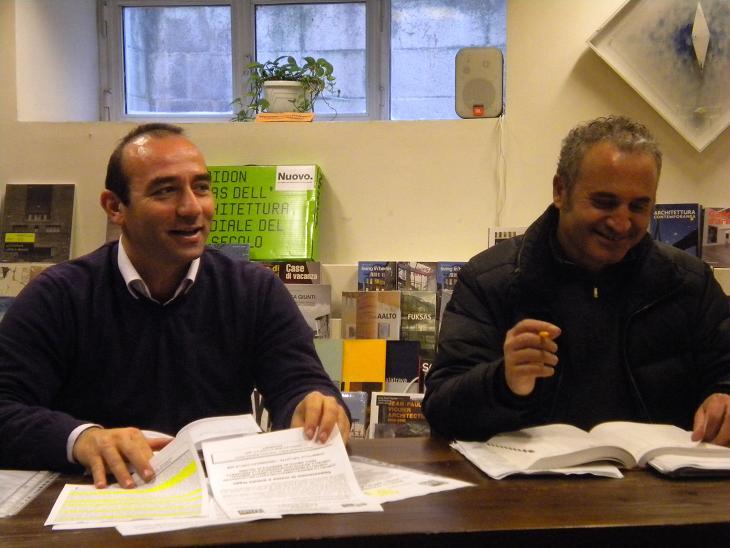 A sinistra Andrea Quaglietti