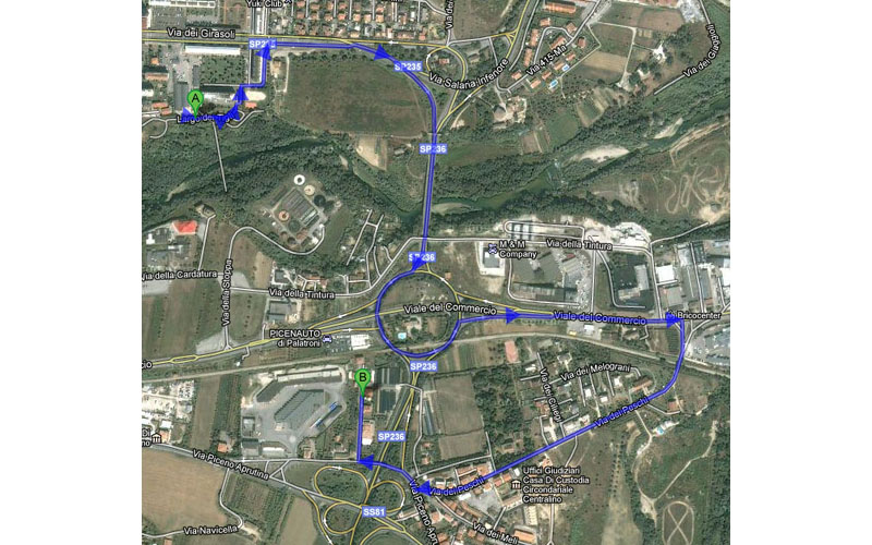 Basterebbe poco per rendere il percorso tra Monticelli e Marino molto più breve in bicicletta