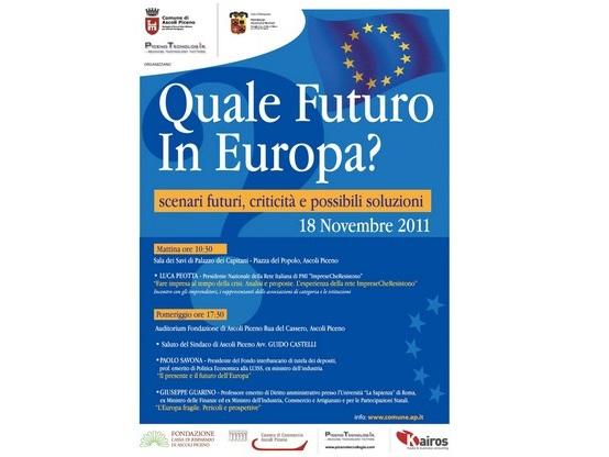 Manifesto Quale Futuro in Europa