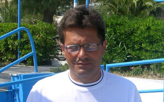 Walter Novellino, qui in vacanza nella Riviera delle Palme