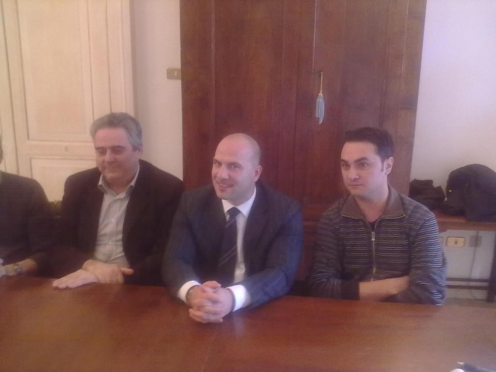 Giampiero Grandoni, Valerio Lucciarini, Dino Castellucci