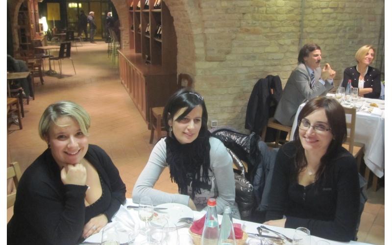 Da sinistra Serena Nespeca e Melissa Tarquini della Cooperativa Oikos