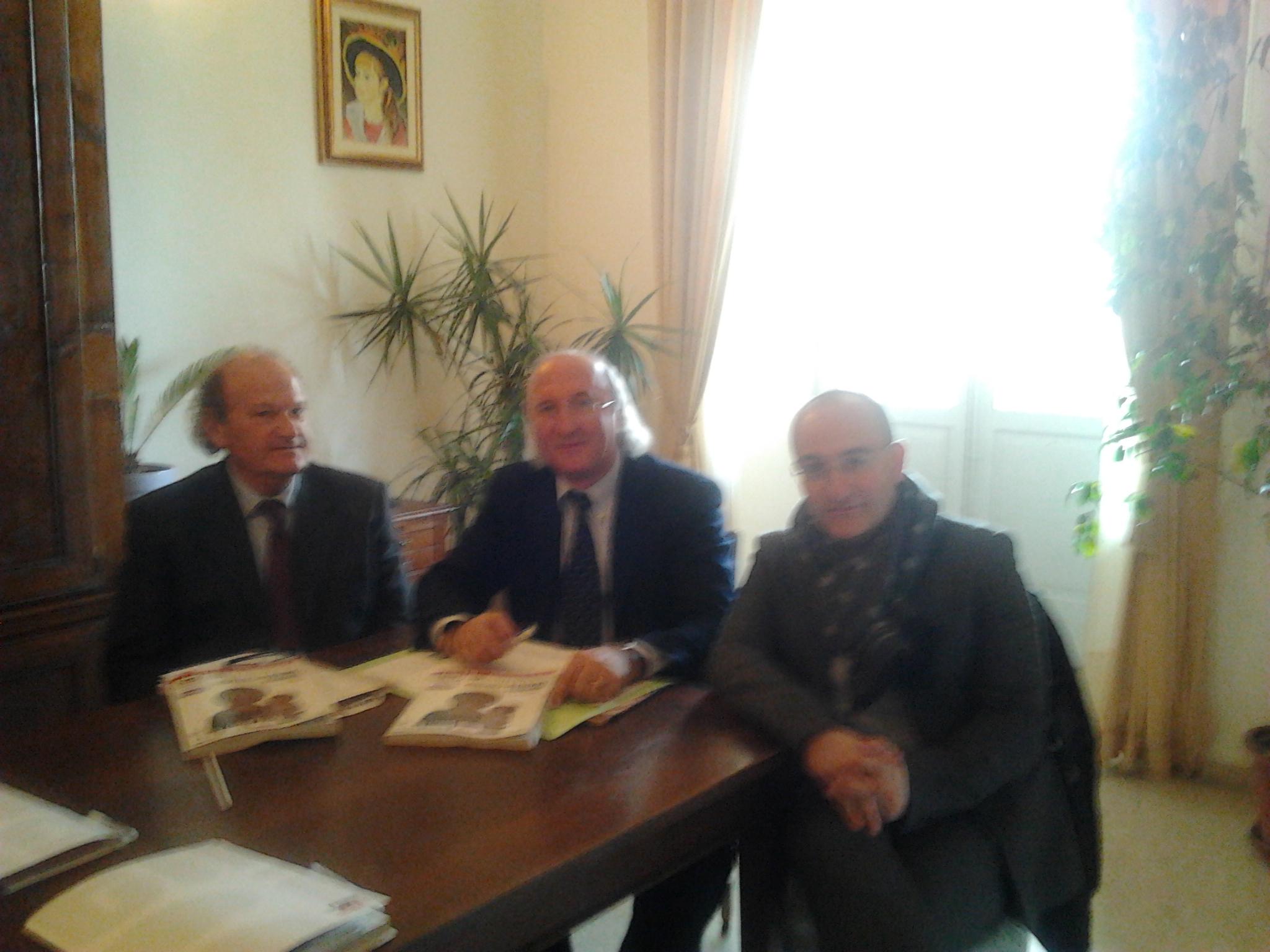 Alessandro Balducci, Gianpietro Casagrande, Piero Antimiani