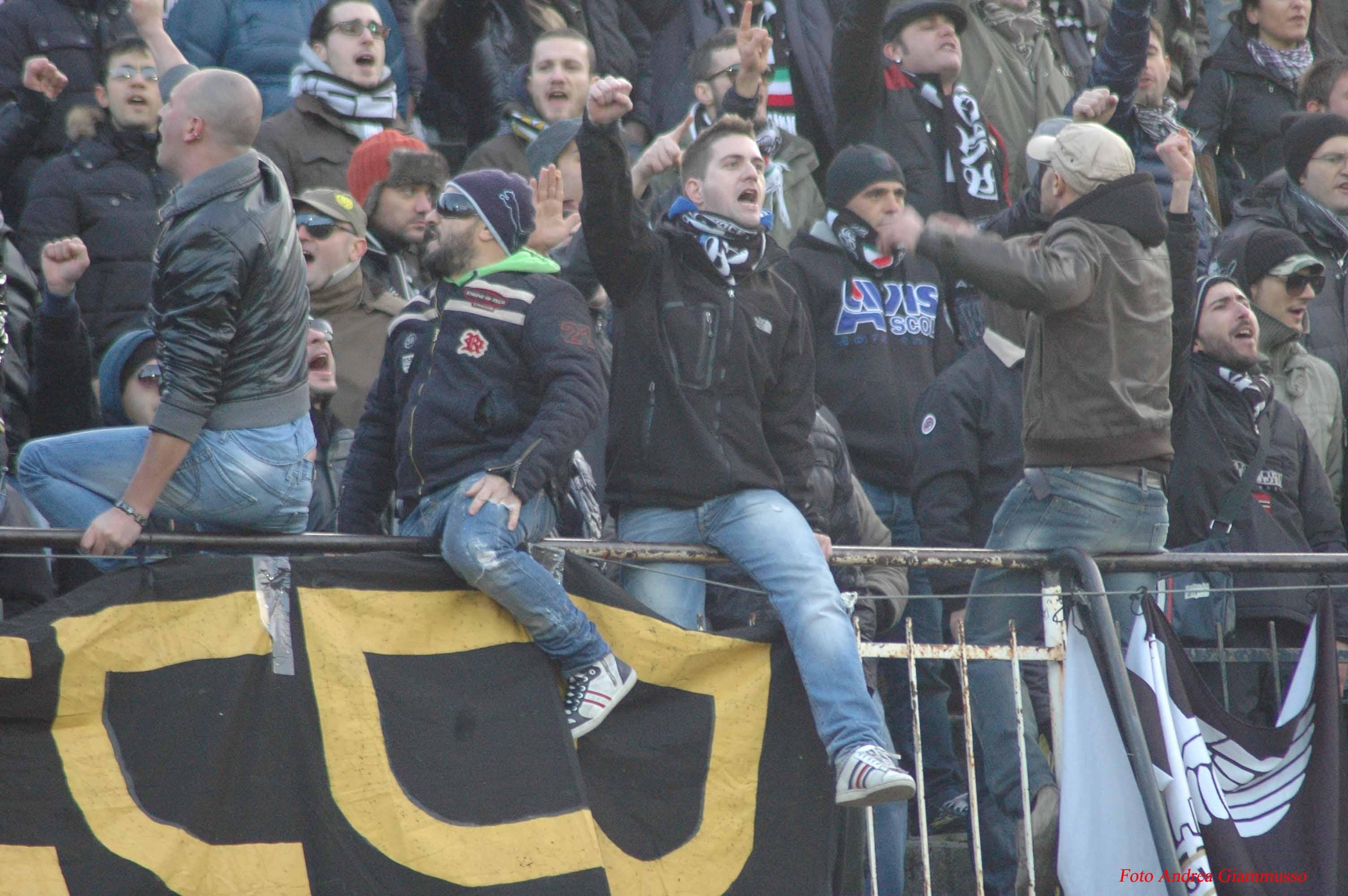 Ascoli-Padova, la curva