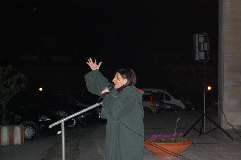 Donatella Allevi recita