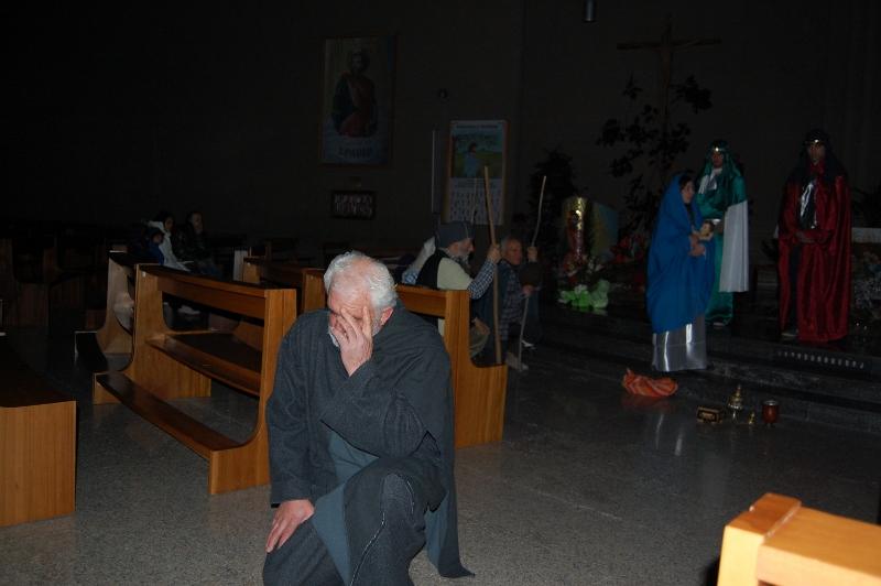 L'Angelo (voce di Alberto Azzara) parla a San Giuseppe