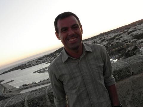 Marco Razzè in una foto del suo profilo Facebook