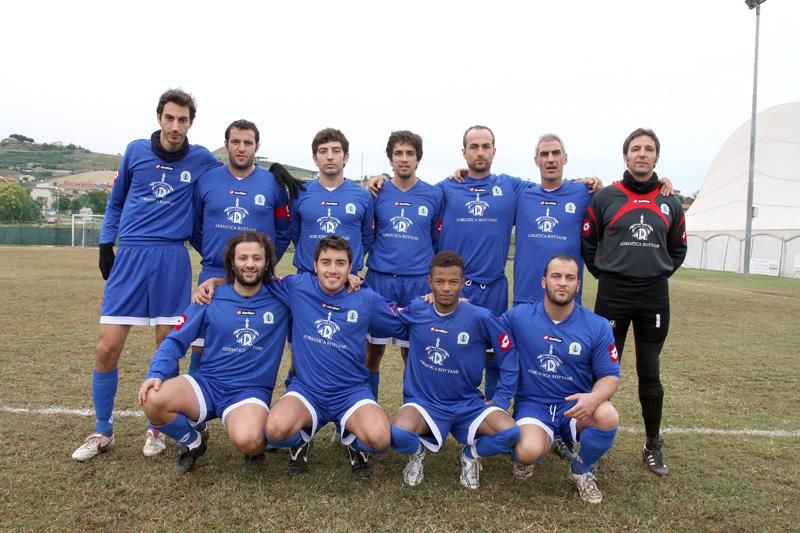 Molo sud, la squadra vincitrice dell'edizione del 2010 del memorial Angelini