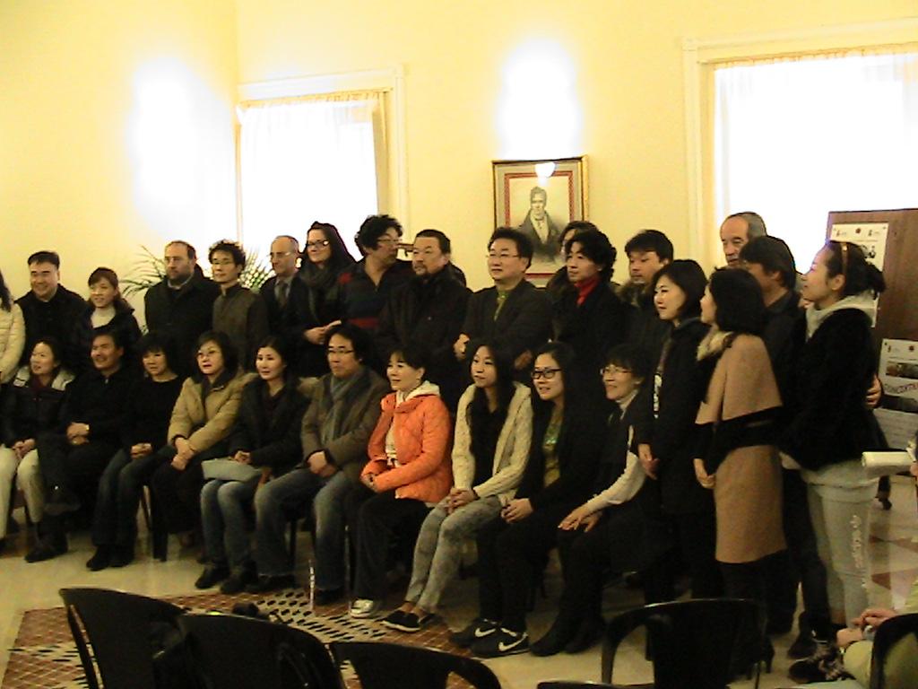 Studenti coreani all'Istituto Musicale Spontini