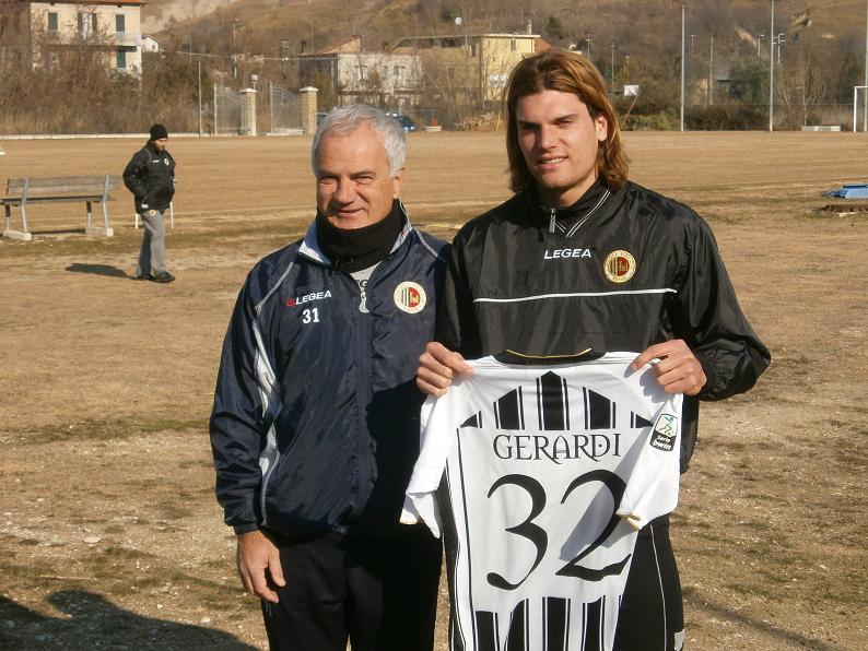 Federico Gerardi, prima rete stagionale