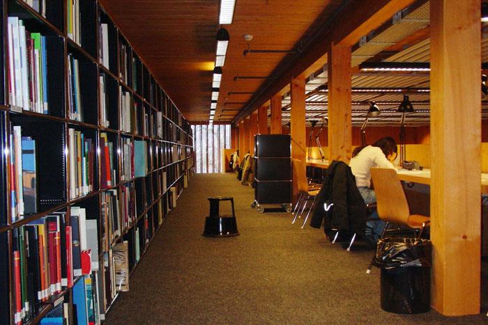 Una biblioteca (fonte: usi.ch)