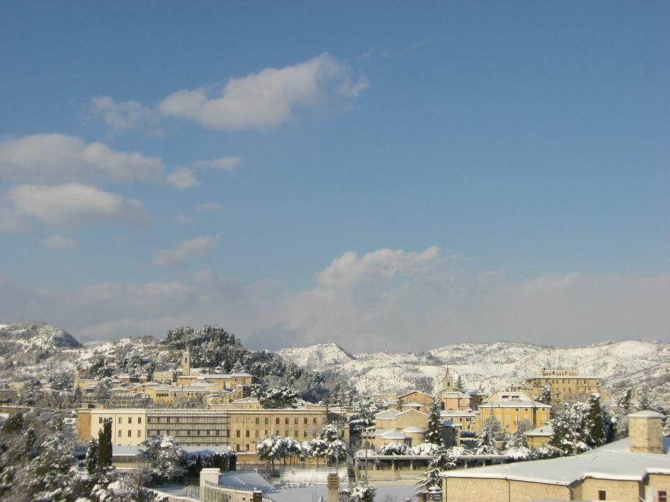 Campo Squarcia e Colle Annunziata con la neve, 11 febbraio (francesca marchei)