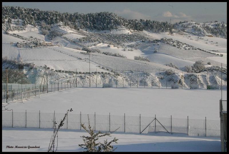 Campo sportivo di Monteprandone, 11 febbraio, Maurizio Grandoni