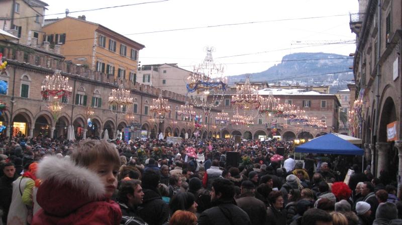 Piazza del Popolo - Carnevale ascolano 2012