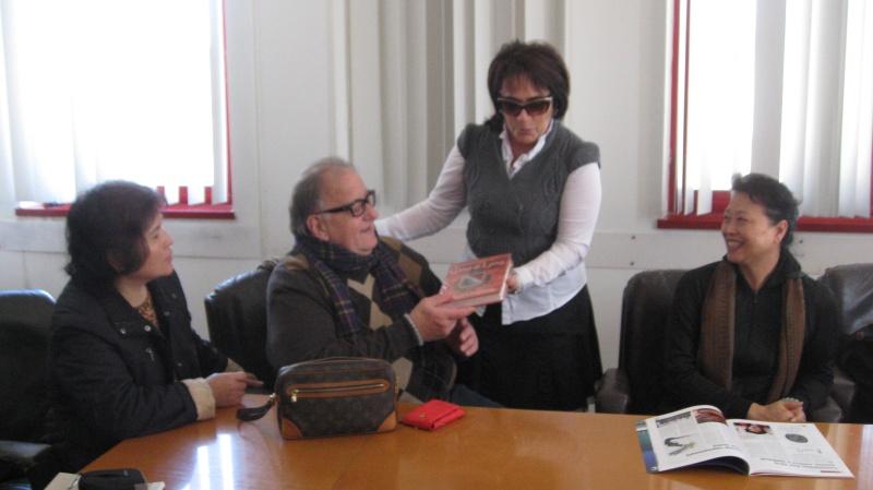 Delegazione di Taiwan col sindaco Patrizia Rossini