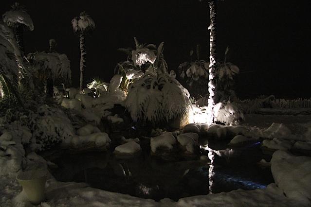 11 febbraio 2012. Il lungomare sud di SBT e la neve. Foto di Peppe il barbiere