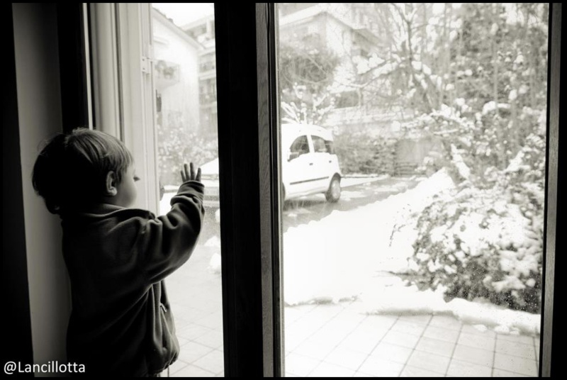 La prima neve, Centobuchi, 10 febbraio 2012, Pamela Lanciotti_