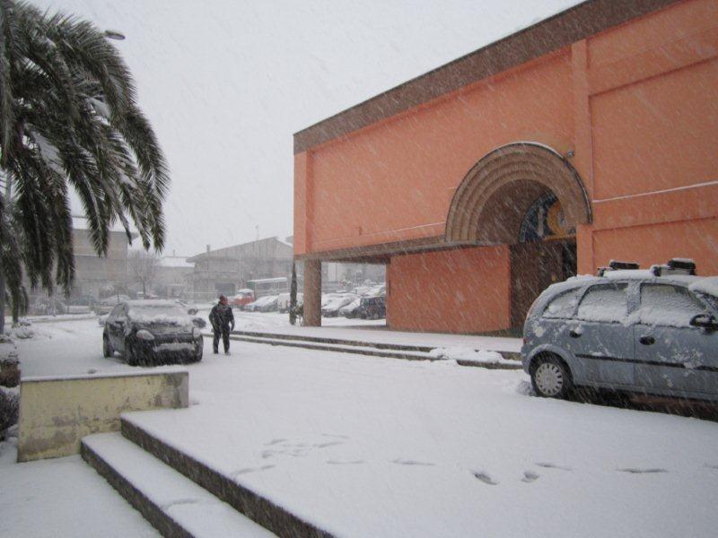 Nave a Centobuchi, 10 febbraio 2012, foto di Pierluigi Bartolomei