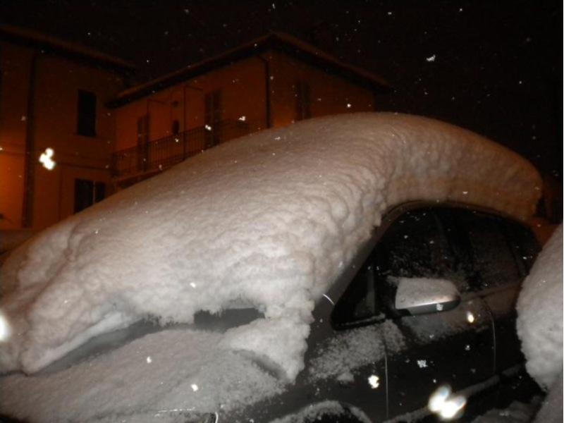Neve 10 febbraio Ascoli Piceno