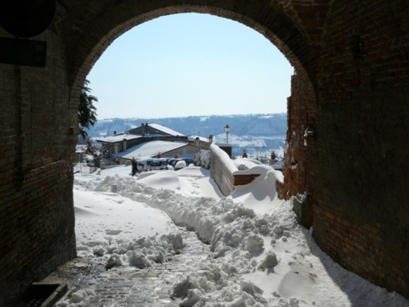 Neve 11 febbraio a Massignano di Pietro Curi 11