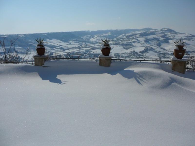 Neve 11 febbraio a Massignano di Pietro Curi 12